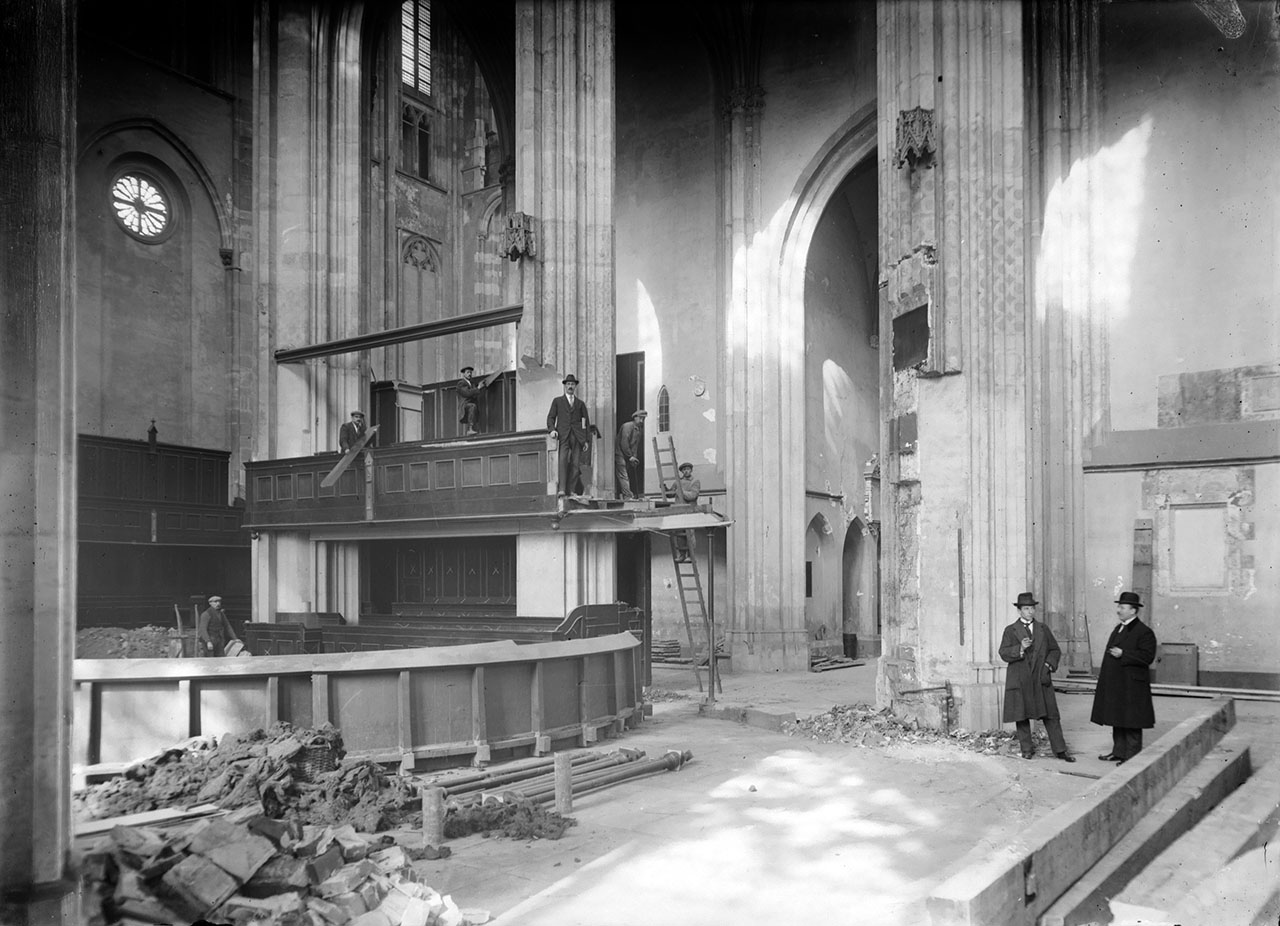 Interieur Domkerk Utrecht